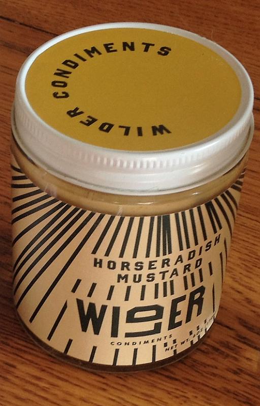 Wilder Condiments Horseradish Mustard