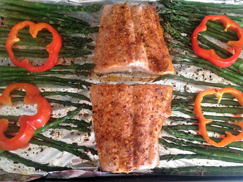Roasted Salmon with Weber Thai Chili Seasoning