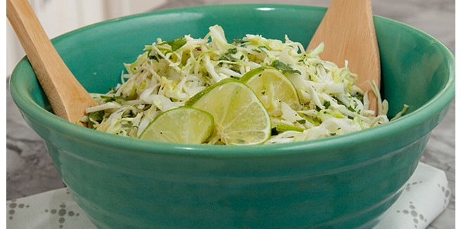 Cilantro Lime Slaw: Delicious Side for Cinco de Mayo