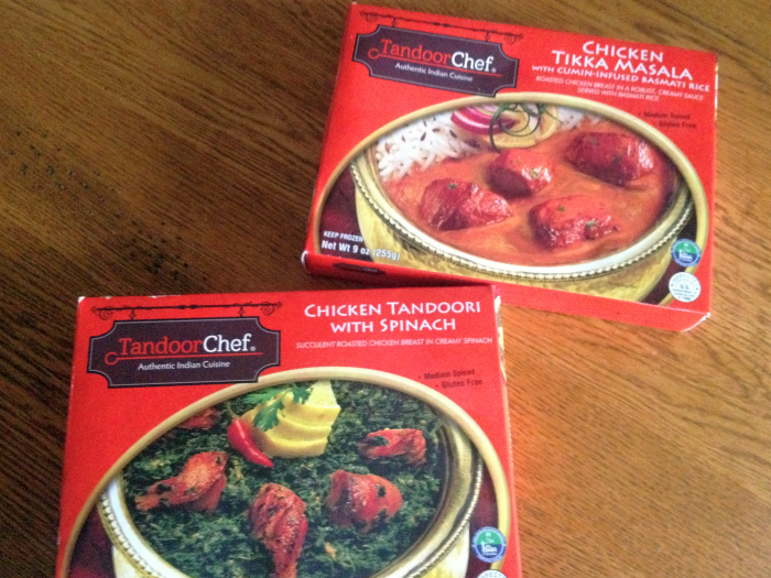 Tandoor Chef Authentic Indian Cuisine Frozen Meals