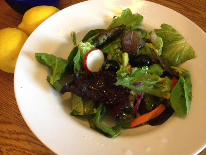 Tossed Green Salad with Lemon EVOO Dressing