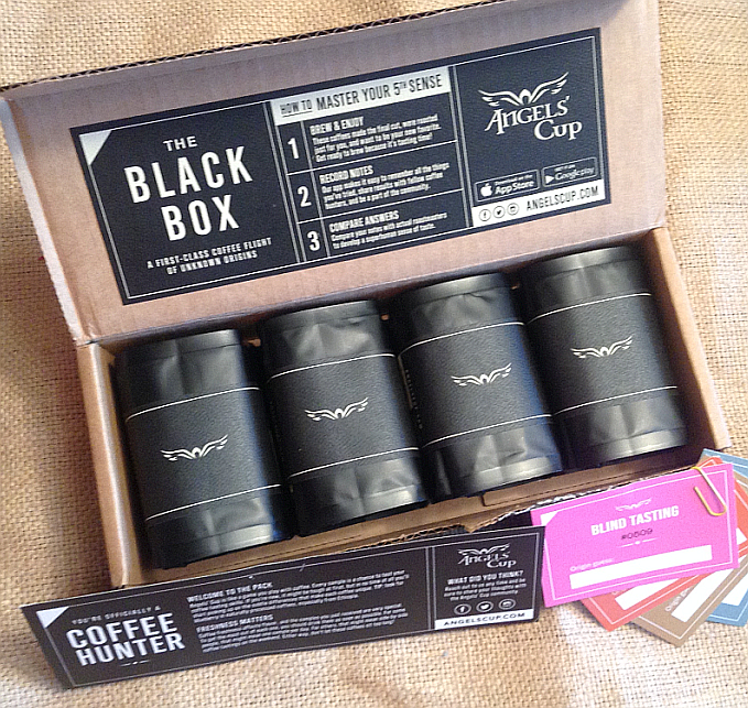 Angels' Cup Black Box Coffee Subscription Service