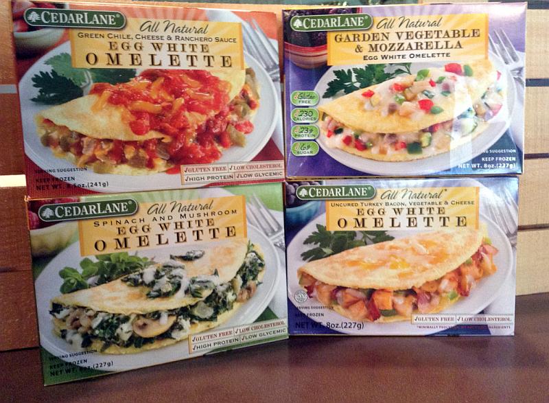 CedarLane Frozen Breakfast Foods - Omelettes!