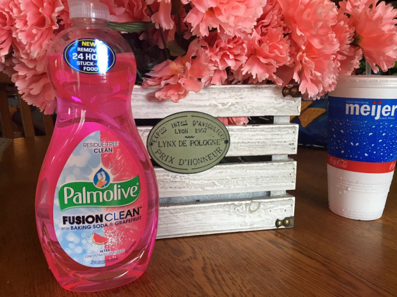 Palmolive Fusion Clean Dishwashing Soap
