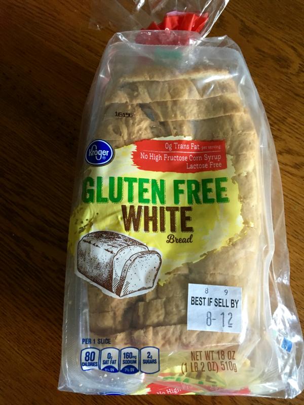 Kroger Brand Gluten Free White Sandwich Bread