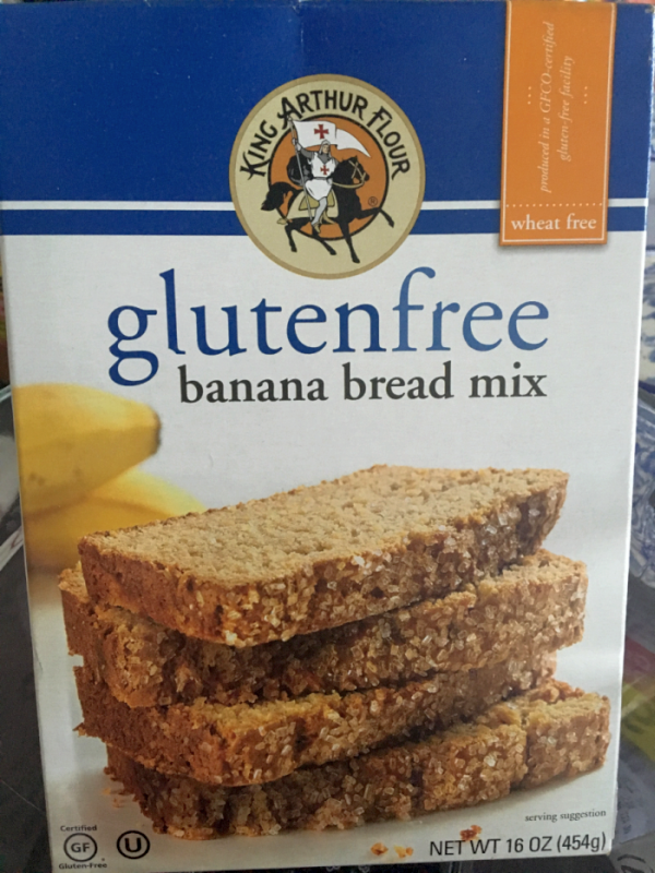 King Arthur Flour Gluten Free Banana Bread Mix (Raving