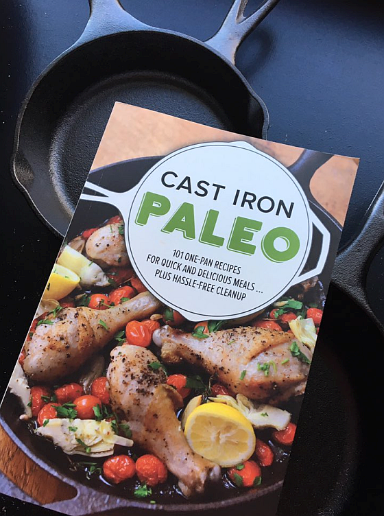 Cast Iron Paleo by Pamela Ellegn