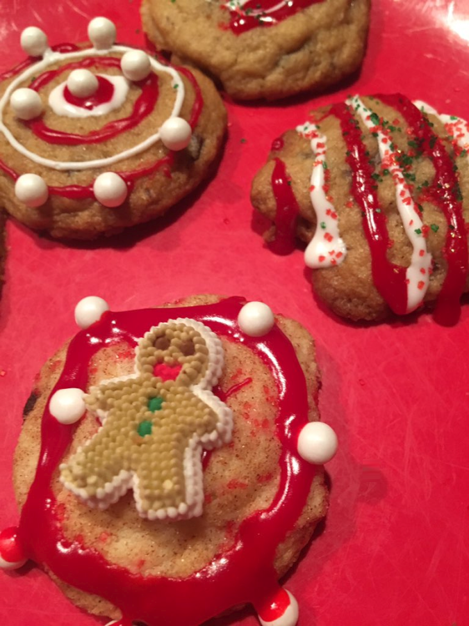 Decorated Krusteaz Cookie Mix Cookies