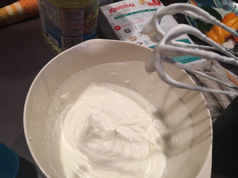 Homemade Whipped Topping