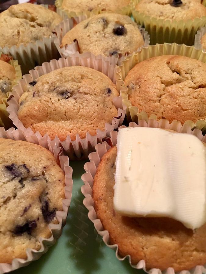 Krusteaz Gluten Free Blueberry Muffins