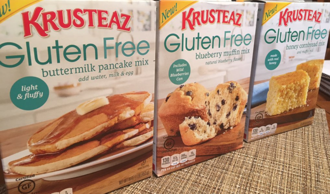 National Hot Breakfast Month with Kruteaz Gluten-Free Mixes