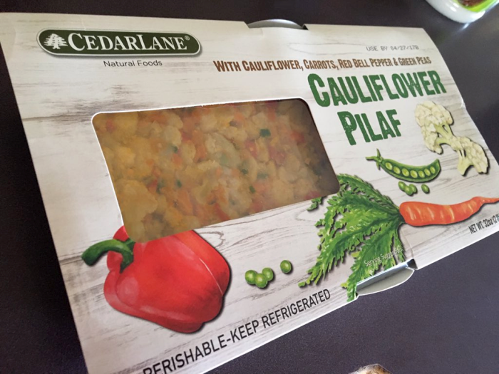 CedarLane Cauliflower Pilaf Review