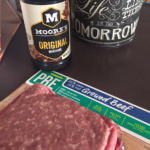 Moore's Original Marinade and Grass-Fed Ground Beef