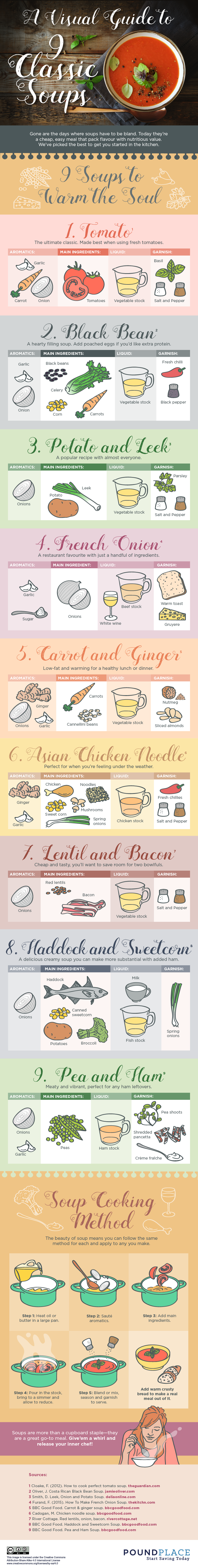 Soups Infographic