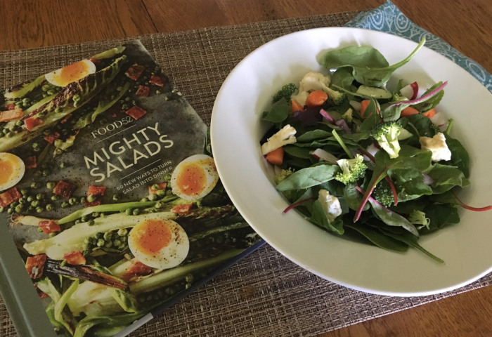 Food52 Mighty Salads Cookbook and Salad!