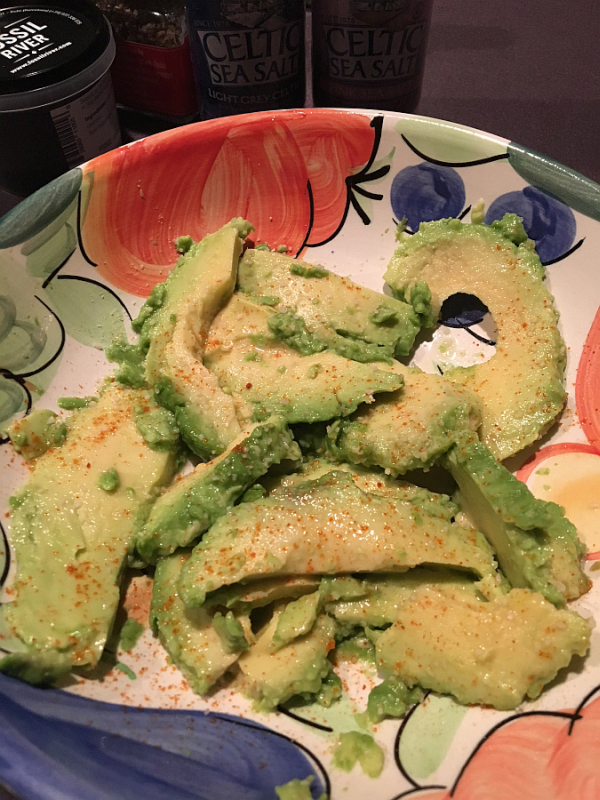 Avocados and Pink Sea Salt