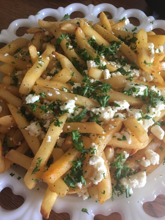 Quick and Easy Greek Fries