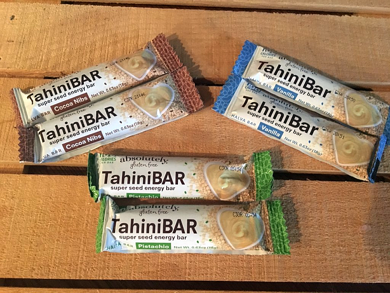 Absolutely Gluten Free Tahini Bars