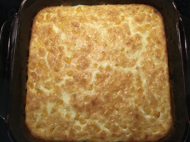 Gluten-Free Corn Pudding