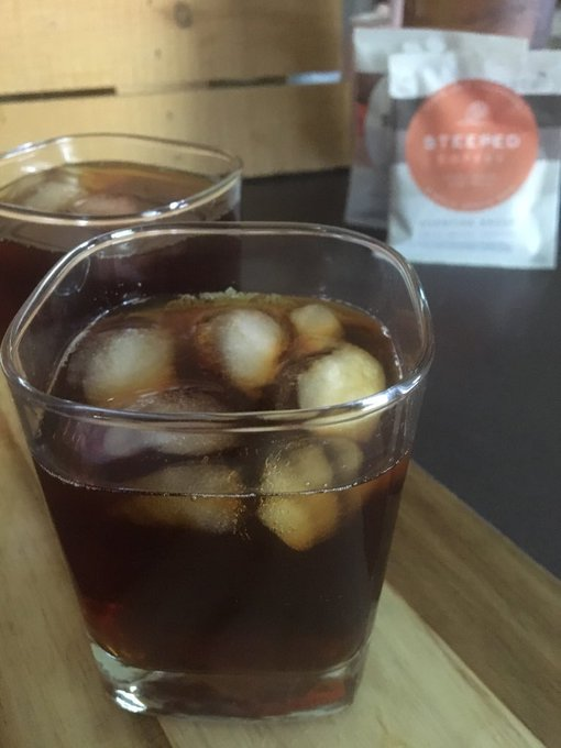 Iced Steeped Coffee Review