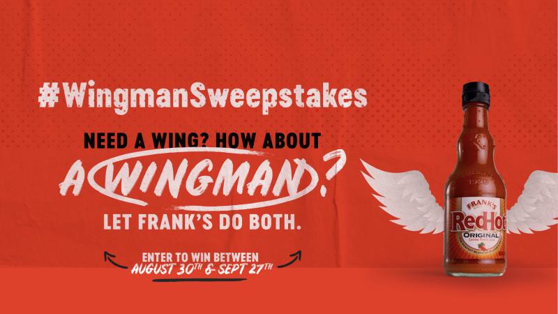 Frank's RedHot Wingman