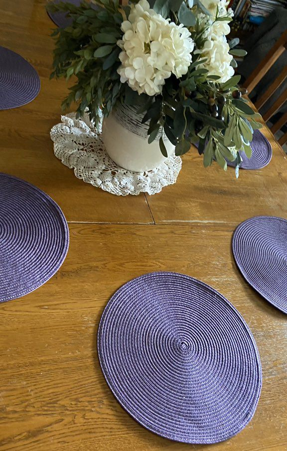 Purple Placemats