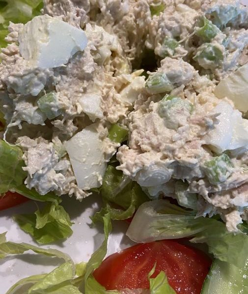 Chicken Salad with Egg